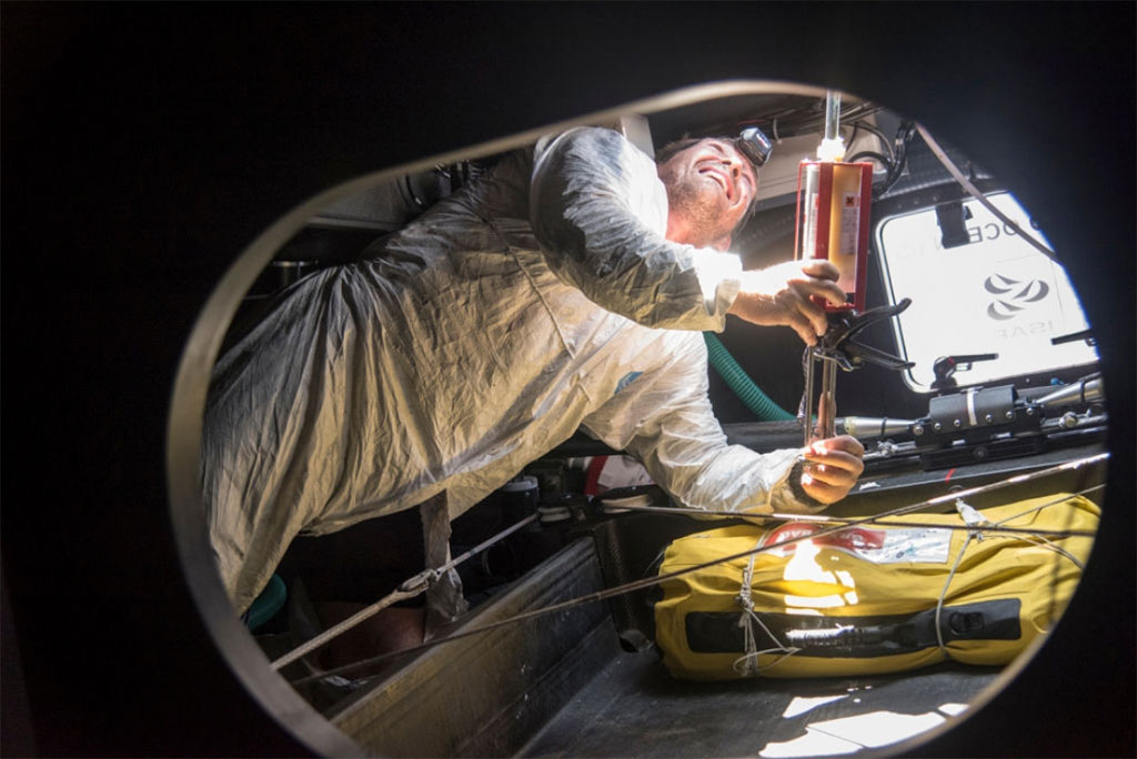Photo: Sam Greenfield/Dongfeng Race Team/Volvo Ocean Race