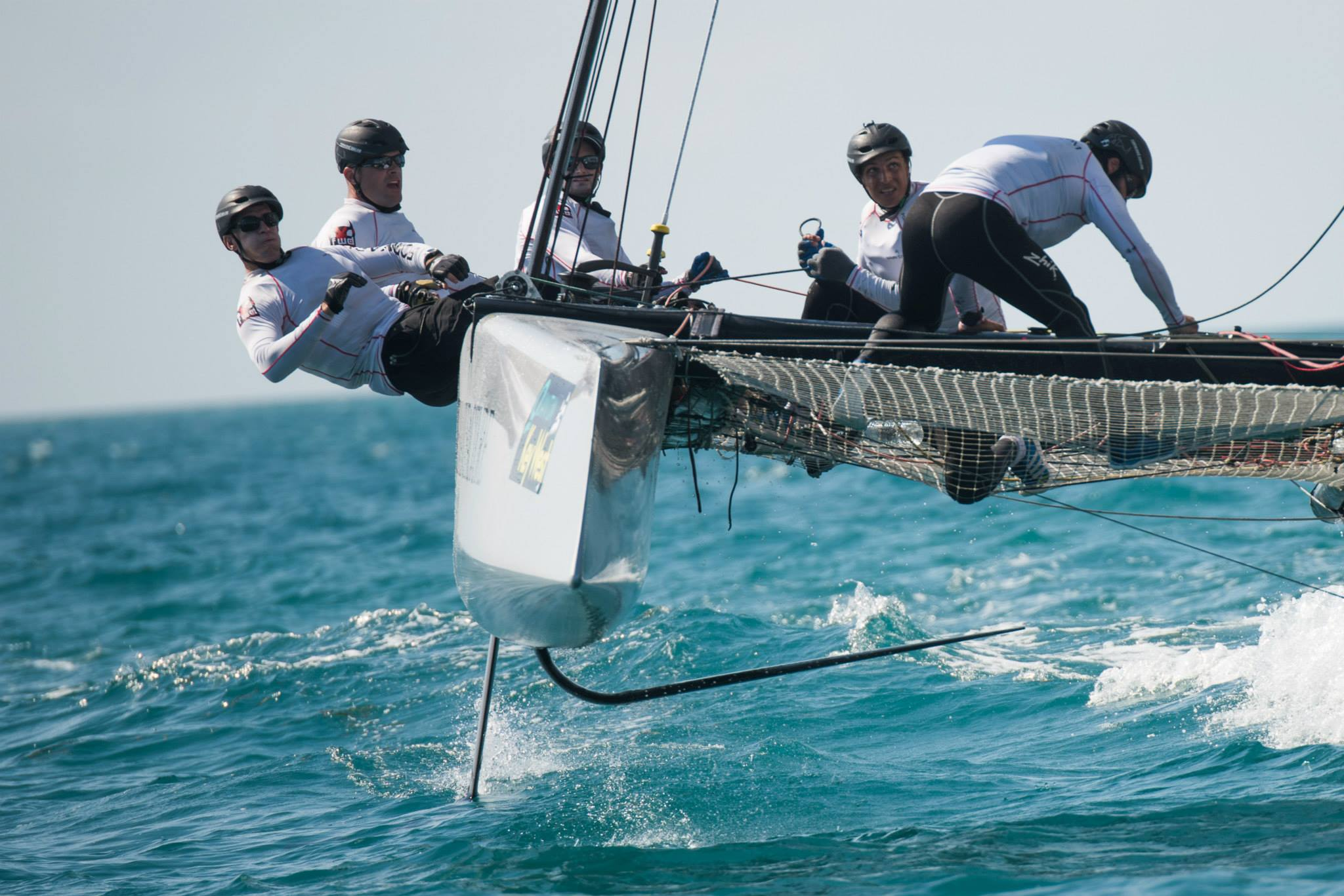GC32s at Quantum Key West Race Week ©Jen Edney / GC32 Racing Tour