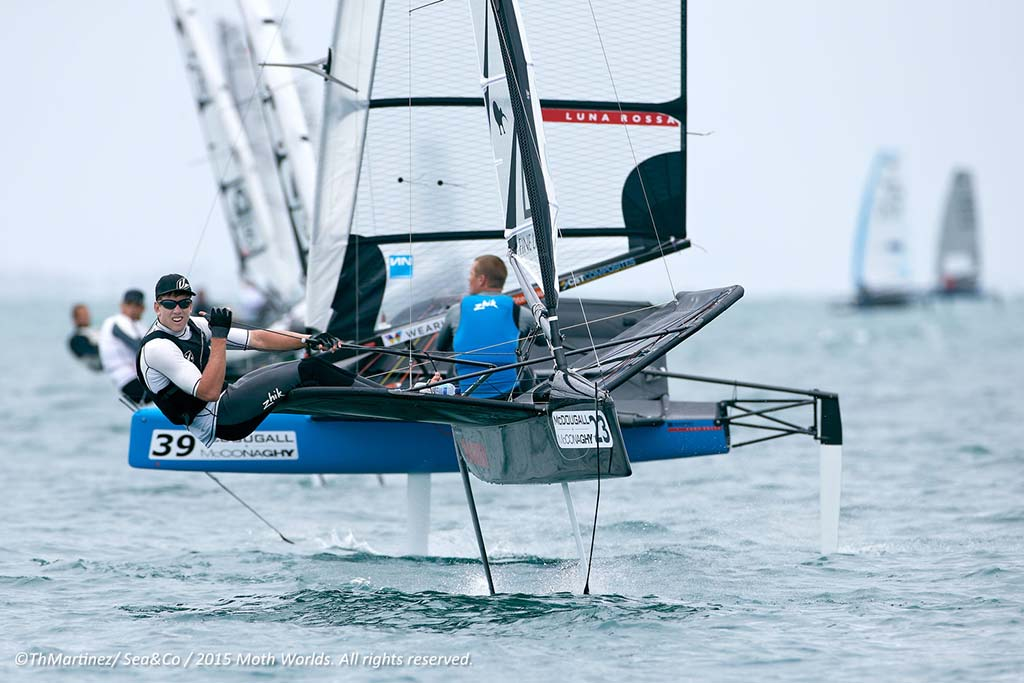 ©ThMartinez/Sea&Co. 2015 International Moth World Championship.